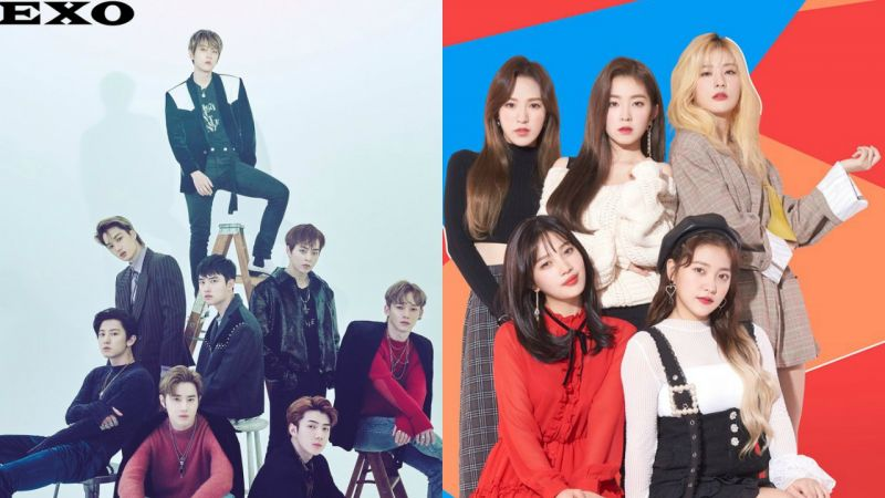 Red Velvet、EXO、BIGBANG大声、2NE1多年前的歌曲逆行了! 韩国音乐榜单说出了大家的新年愿望