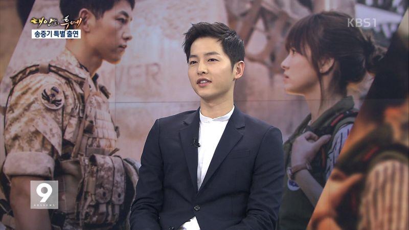 KBS 劉時鎮日《NEWS 9》、《太陽的後裔》收視開花