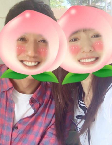 這兩顆可愛桃子是誰?  看不出相差9歲的金來沅+朴信惠