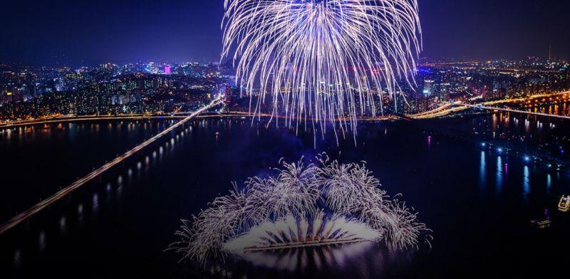 【旅遊資訊】2018首爾世界煙花節,就在這個週末!
