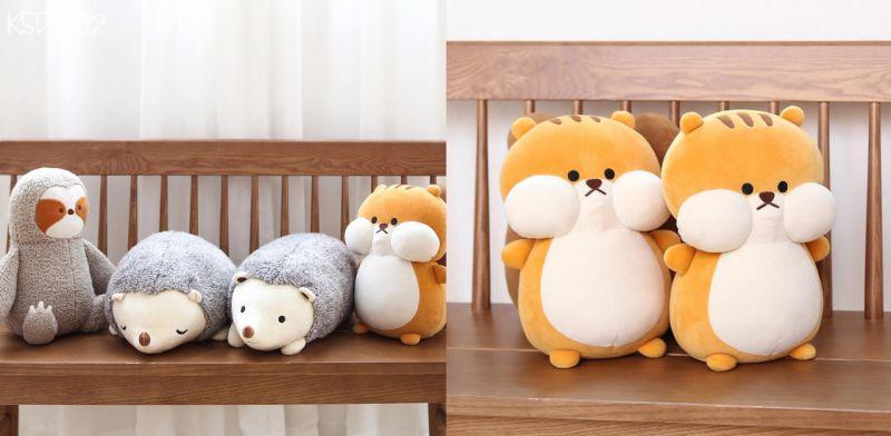 只要5000韩元~就可以在韩国大创玩到超可爱的松鼠等动物玩偶!