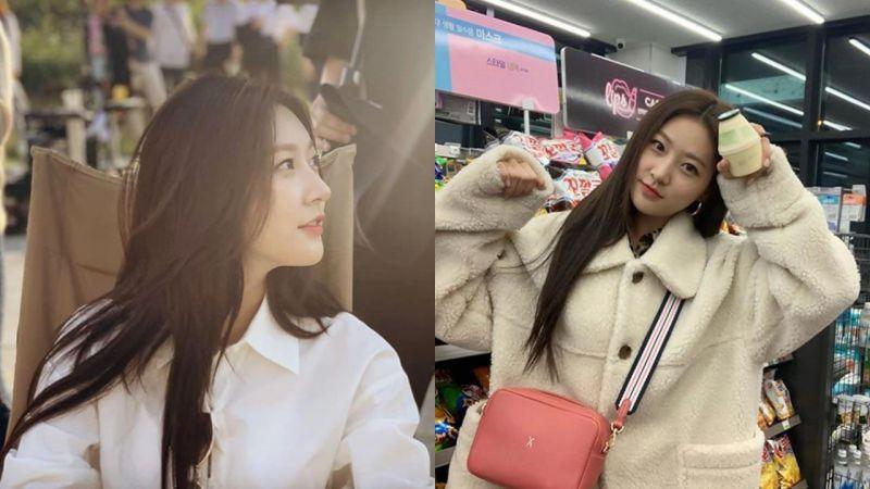 童星出身金賽綸離開YG娛樂:「確定不續約,以後也會支持她的演員活動。」