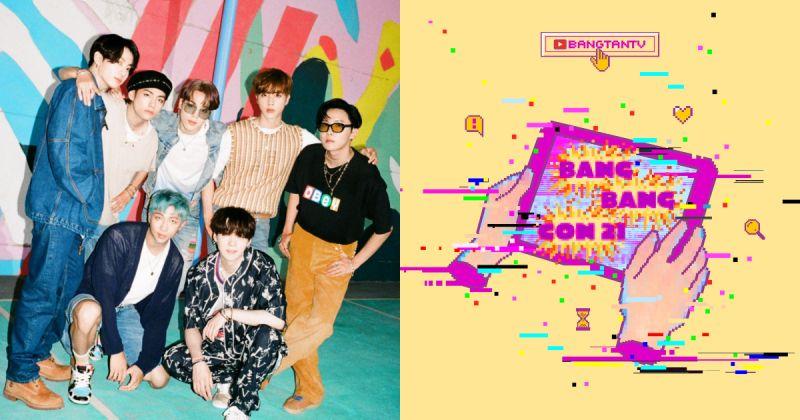 BTS防弹少年团本周举行《BANG BANG CON 21》 连播三场精彩演出!
