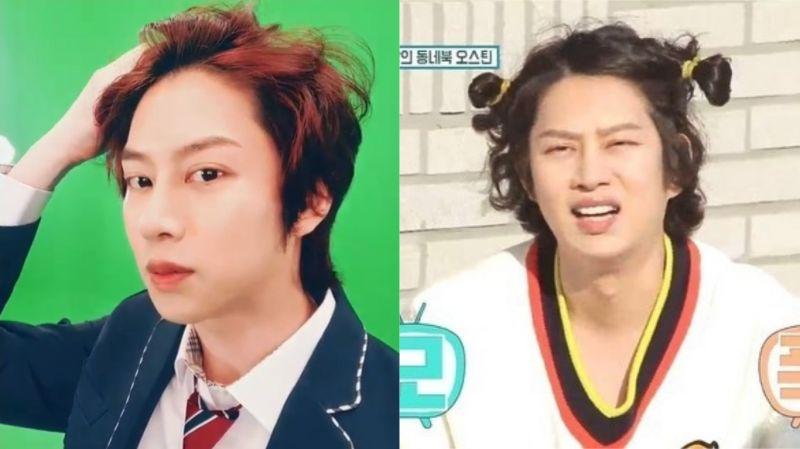 只要剪发就会引来「欢呼」的男偶像!SJ希澈著校服更新SNS 粉丝:「一早被帅醒了」