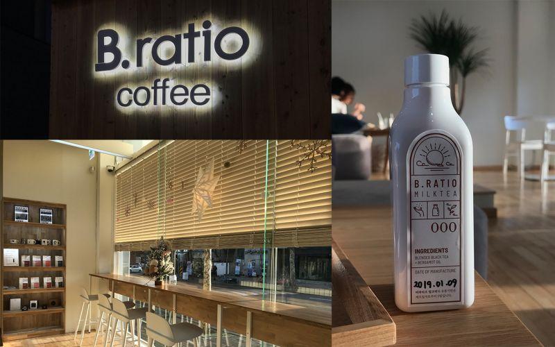 隱身在弘大鬧區中的靜謐空間:B.ratio coffee