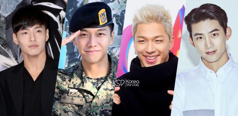 他们在服完兵役后好感度再次上升! 李升基 & 2PM泽演 & BIGBANG太阳 & 姜河那