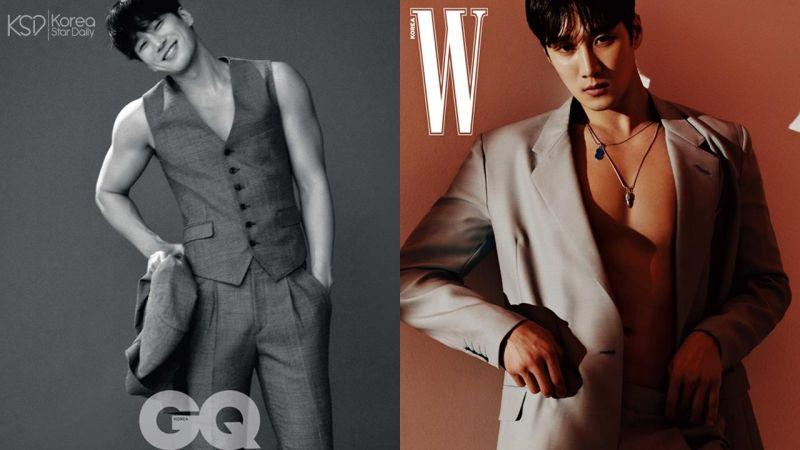 「時尚新寵兒」安普賢兩大雜誌品牌寫真公開,這肌肉線條真的不能錯過啊!