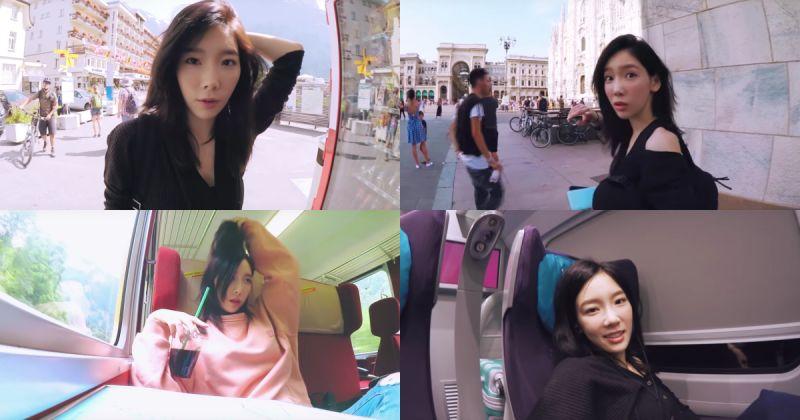 跟著最真实的太妍去旅行吧!《Taengu TV》一天内接连更新四支影片