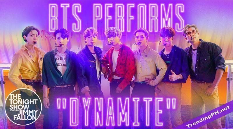 BTS 防弹少年团的表演特别节目为美国《吉米A咖秀》带来百万订阅数!