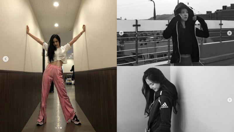活力中带点女人味:娜恩完美示范了「运动X时尚」!