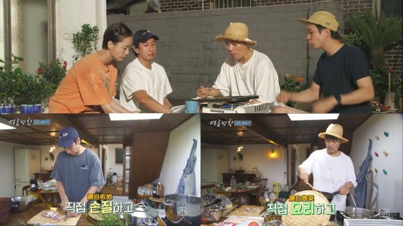 期待播出啊!李善均、朴喜洵将作为嘉宾出演综艺《暑假》, 还亲自做菜给郑有美、崔宇植吃!