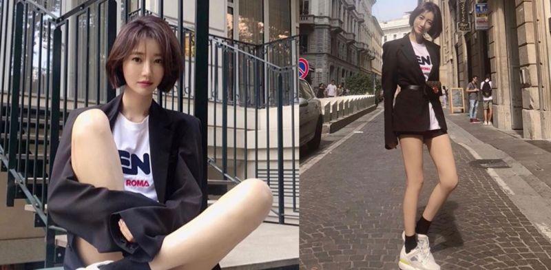 高俊熙出席米兰时装周 展现8头身长腿惊人