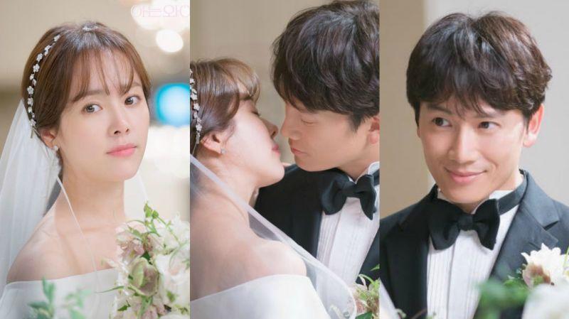 《认识的妻子》原来这是首次拍摄的场景!池晟、韩志旼令人心动的婚礼剧照