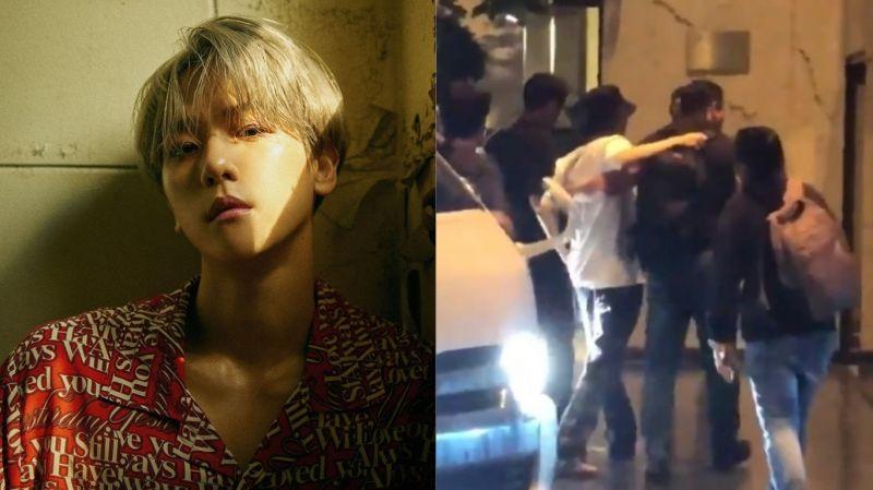 演唱会后被粉丝目击需有人搀扶才能下车…EXO伯贤健康状况引担心!本人亲自回应:「只是腿麻了…大家知道那种感觉吧?」