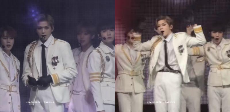 Wanna One姜丹尼尔&朴志训&金在奂&河成云跳BIGBANG《BANG BANG BANG》
