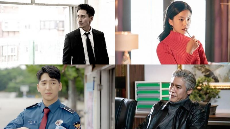接檔張赫《壞爸爸》的新劇《壞刑警》由申河均、朴浩山、Baro等人主演海報公開