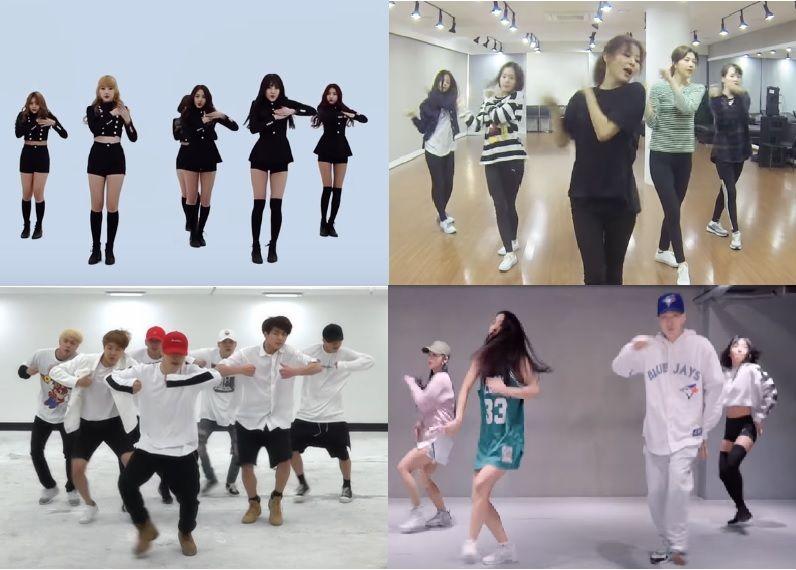 韓風舞蹈班開課了,要學哪一首歌好呢