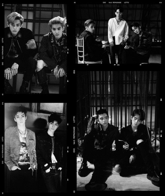 EXO后续新曲LOTTO MV拿下Youtube K-POP周榜1位