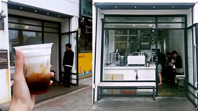 【釜山必吃】到釜山必喝的超美漸層咖啡:每天都想來一杯美好的「TOMORROW」!