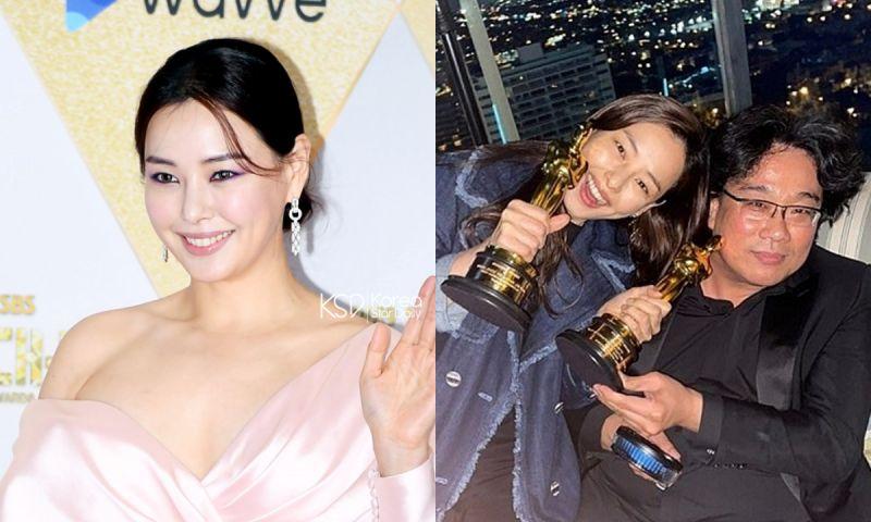 李荷妮PO照祝贺《寄生上流》获奖竟被骂? 火速删照片发文道歉,网友:「哪里有做错? 」