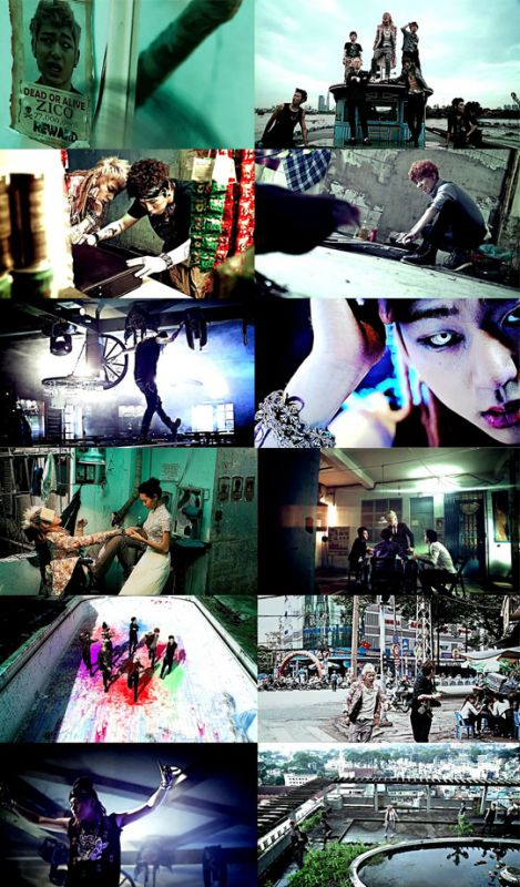 Block B新曲《NILLILI MAMBO》MV出爐 懸疑劇情如片