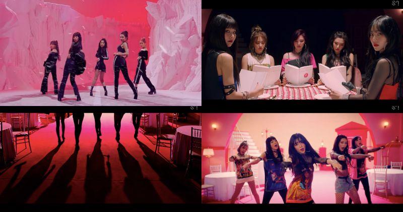 Red Velvet 越过新门槛 第一支破两亿 MV 出炉啦!
