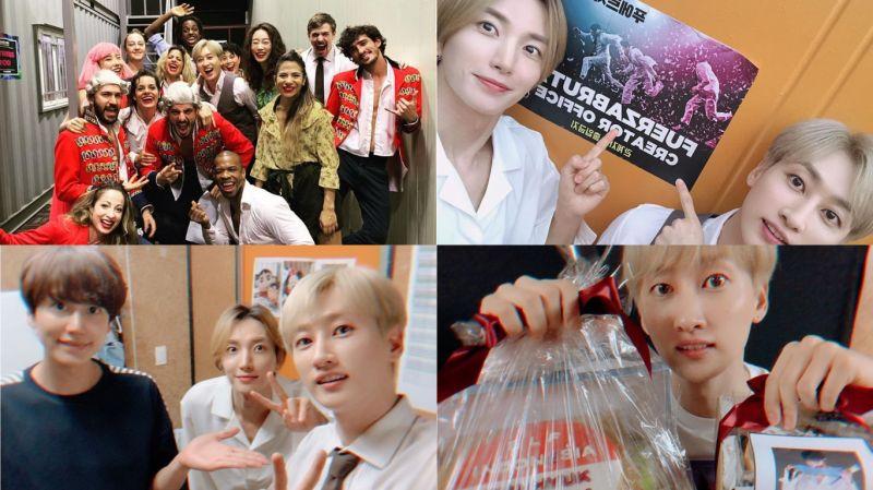 SJ利特、圭贤相约去看银赫《FUERZA BRUTA》最终场!他会想推荐哪位成员出演呢?