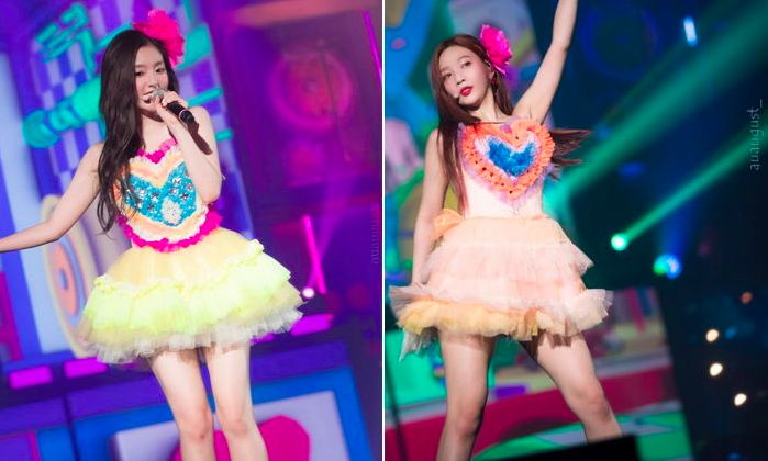 Red Velvet舞台服被狂吐槽!韩粉:这是洗碗布吗?