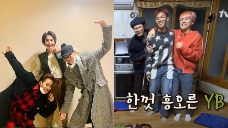 《新西游记》YB组合照!宋旻浩、P.O一起去看曹圭贤的音乐剧《笑面人》