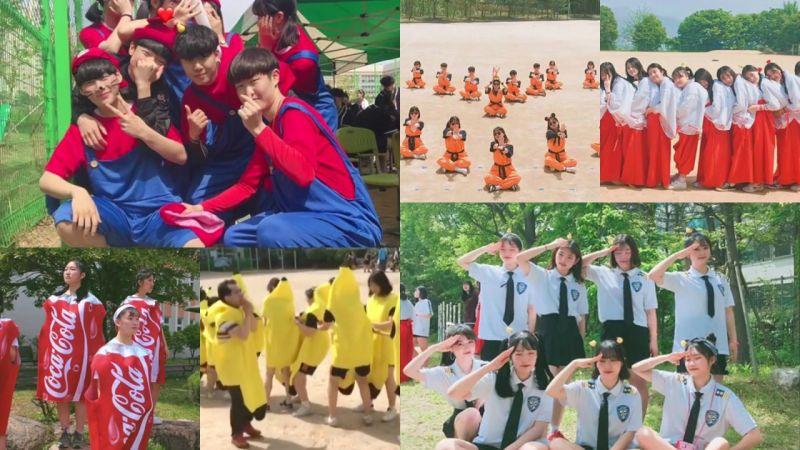 韩国学生不走寻常路!见过「班服诱惑」吗?