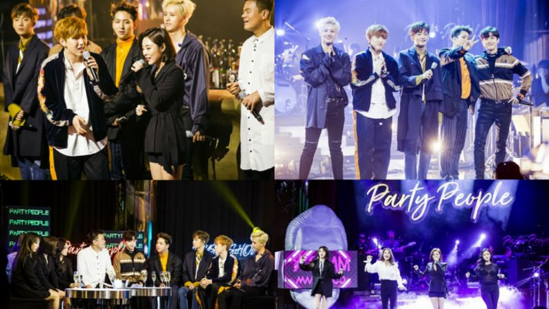 就是今晚!B1A4、MAMAMOO 壓軸登場 《朴軫永的 Party People》第一季將完結