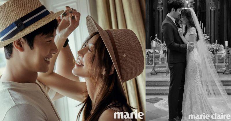 【注意!又一閃光彈】金素妍&李尚禹甜蜜又溫馨婚紗寫真公開