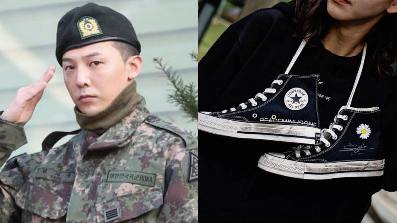 G-Dragon X Converse鞋款高清大图来了?!可甜可盐的鞋款,竟然不是真的