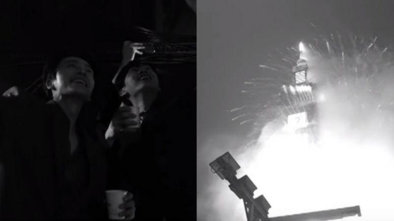 【有片】SJ D&E今年(2020年)雖然沒有「一起看日出」…但他們看了「臺北101跨年煙火秀」!