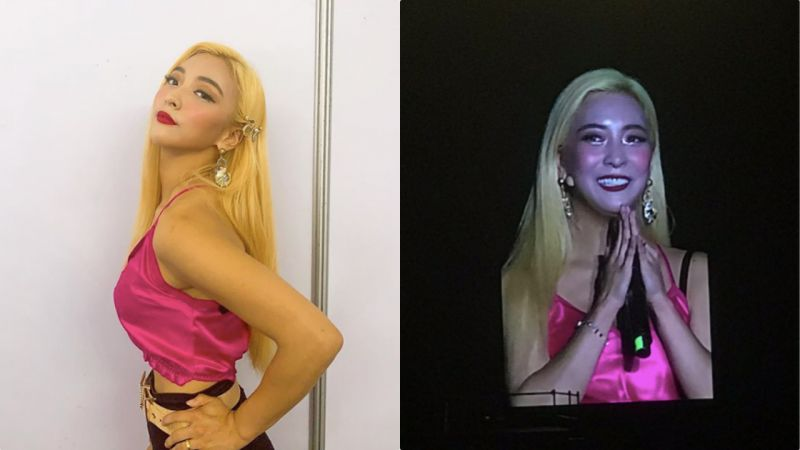 Luna自己化上的舞臺妝會是如何?妝容翻車:驚變螢光臉!