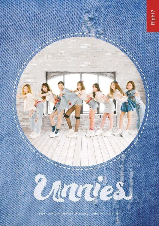 Unnies 2 成功了!「對吧?」通殺音源榜首