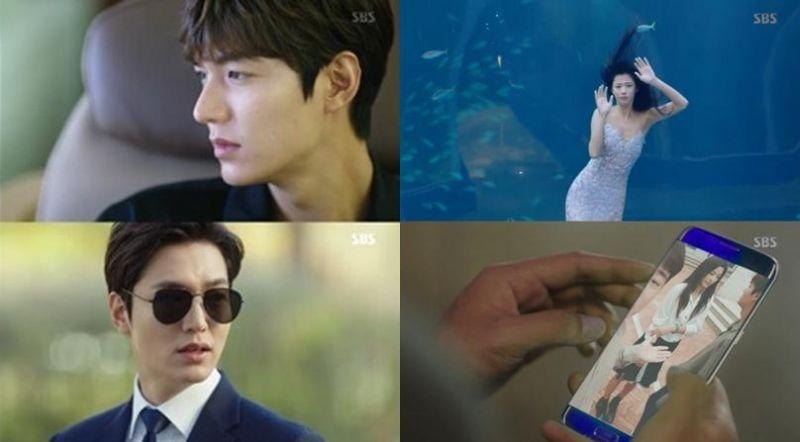 《藍色海洋的傳說》李敏鎬造型多變時尚 全智賢來到首爾搞笑滿點