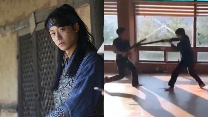 《德魯納酒店》李到晛「青明」IG上分享武術練習的帥氣英姿!