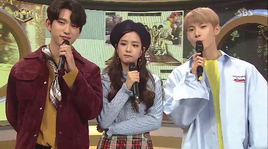 《人氣歌謠》新任MC GOT7珍榮、BLACKPINK智秀、NCT道英 華麗申告式舞台公開