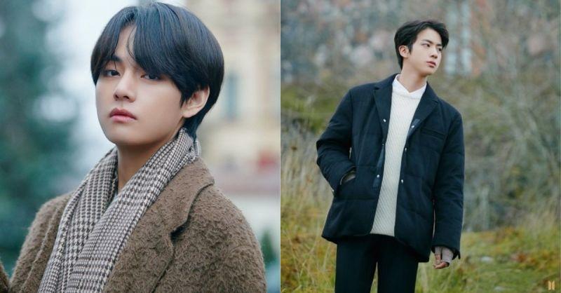 金泰亨获得粉丝投票想在秋天一起散步的男爱豆第一名!前四名都由BTS包办