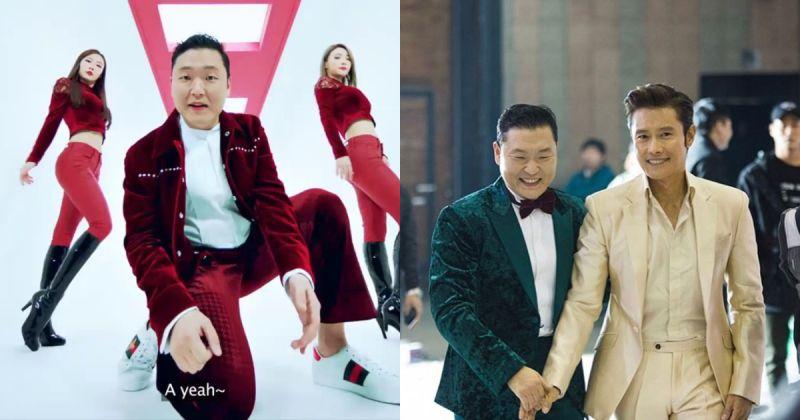 PSY x 李炳宪的爆笑合作 〈I LUV IT〉MV 今日破亿!