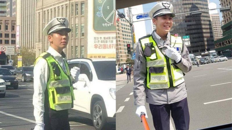 正在執勤中的Loco義警被捕獲!網友:「太可愛了,這樣不會造成交通堵塞嗎?」