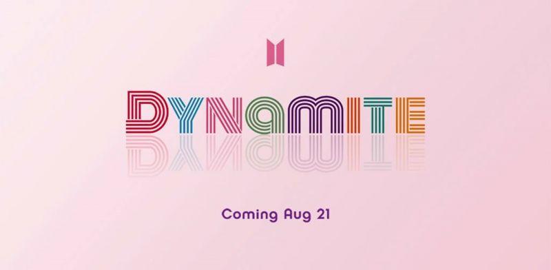 BTS防弹少年团公开新数位单曲「Dynamite」将於8月21日发行