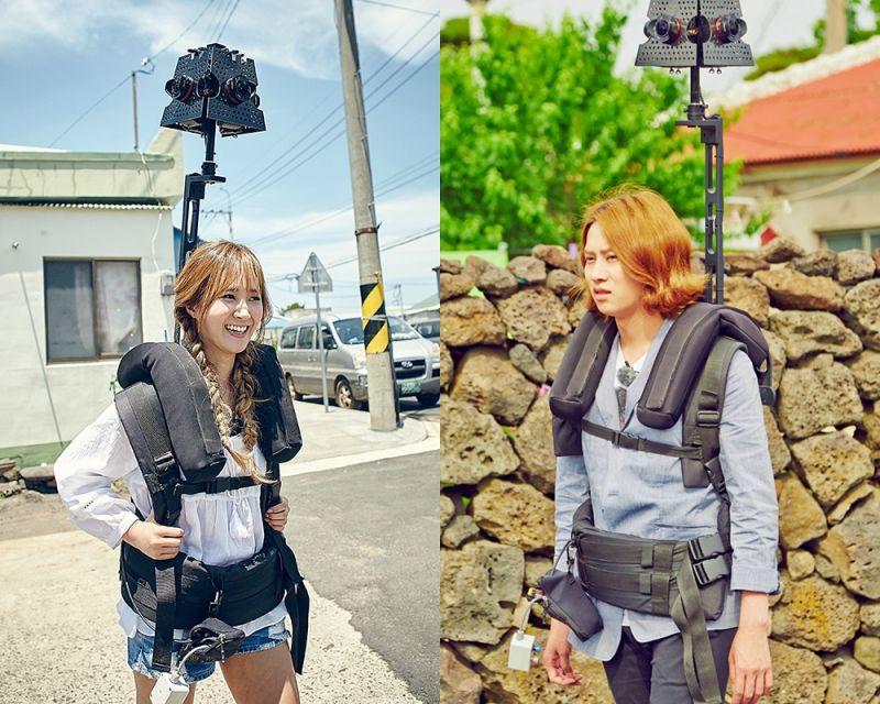 少女時代Yuri金希澈上《MAPS》 攜街景攝像機探索濟州島
