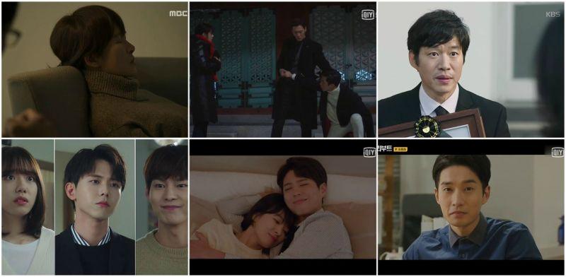 韓劇  本週無線、有線水木收視概況–皇后穩坐冠軍,男朋友持續放閃