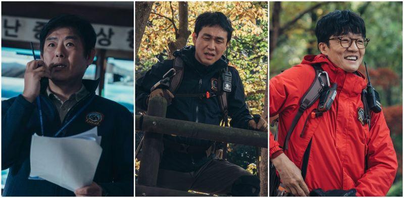 《智异山》不只看全智贤+朱智勋!最强配角组合出列:成东镒、吴政世还有《海岸村恰恰恰》的他
