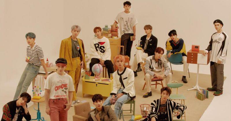 SEVENTEEN 韩、日成绩都出色 包办 HMV 年度韩流榜前四名!