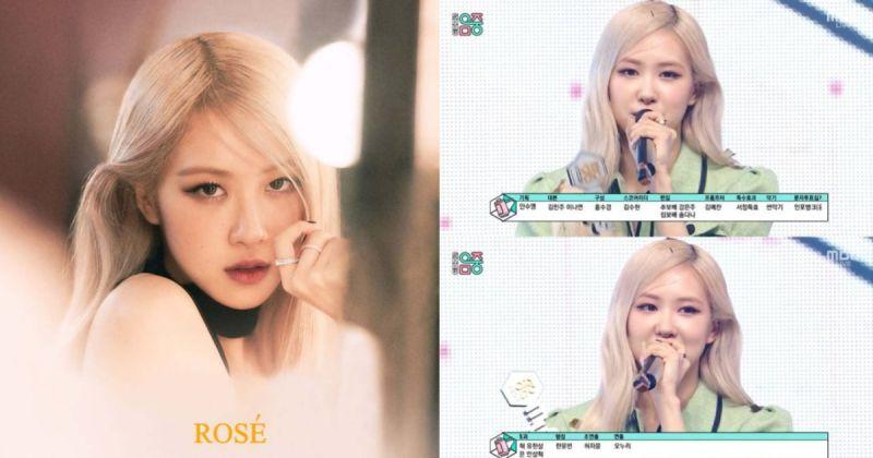 Rosé 憑英語歌橫掃海內外 〈On the Ground〉在韓國打歌節目連奪四冠!