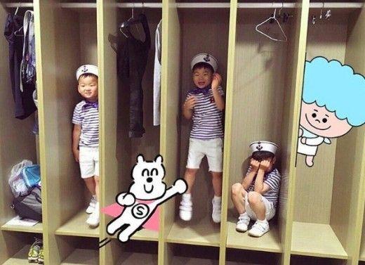 三胞胎大韓、民國、萬歲到音樂劇《42街》探班