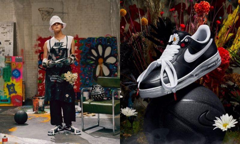 「VIP注意啦~」GD&NIKE推出合作鞋款:AF1 PARA-NOISE,本月23日全球上市!